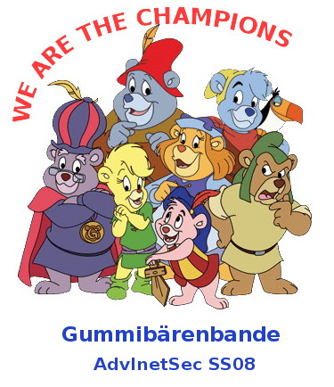 Gummibärenbande - We are the champions!
